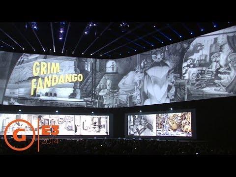 E3 2014 - Grim Fandango is coming to PS4 and Vita - Sony Press Conference