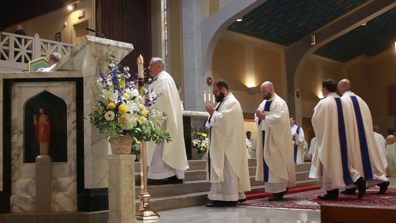 Catholic Diocese of Arlington Ordination to the Priesthood 2019