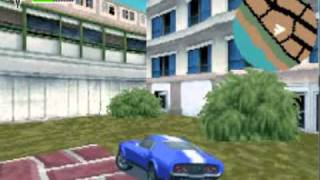 Driver 3 Gameboy Advance Gameplay