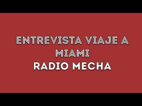 Entrevista viaje a Miami - Barón Rojo Sur Colombia - Radio Mecha