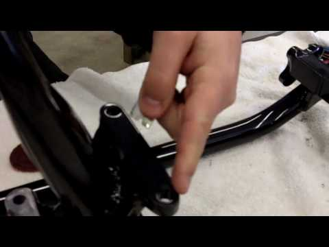 How to prep a frame after Paint or Powder Coat presented by J&P Cycles.