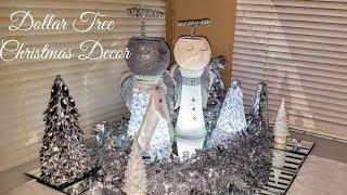 DIY Christmas Angel - Glam Table Decor made with Dollar Tree materials - DIY Christmas decor ideas