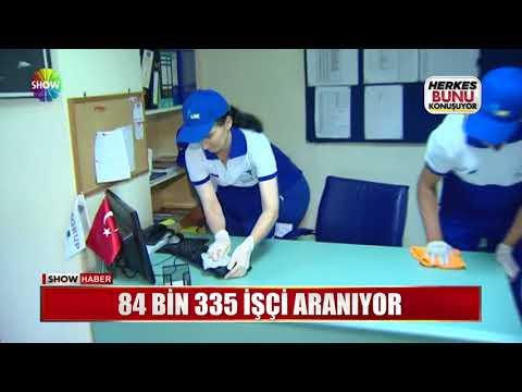 84 Bin 335 işçi aranıyor