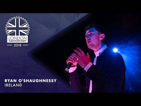 Ryan O'Shaughnessy - Together - IRELAND | LIVE | OFFICIAL | 2018 London Eurovision Party