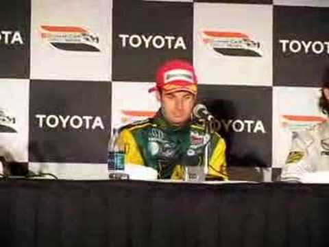 Grand Prix of Long Beach 2008 - Podium Press Conference