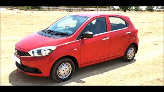 TATA Tiago XM Berry Red Walk Around