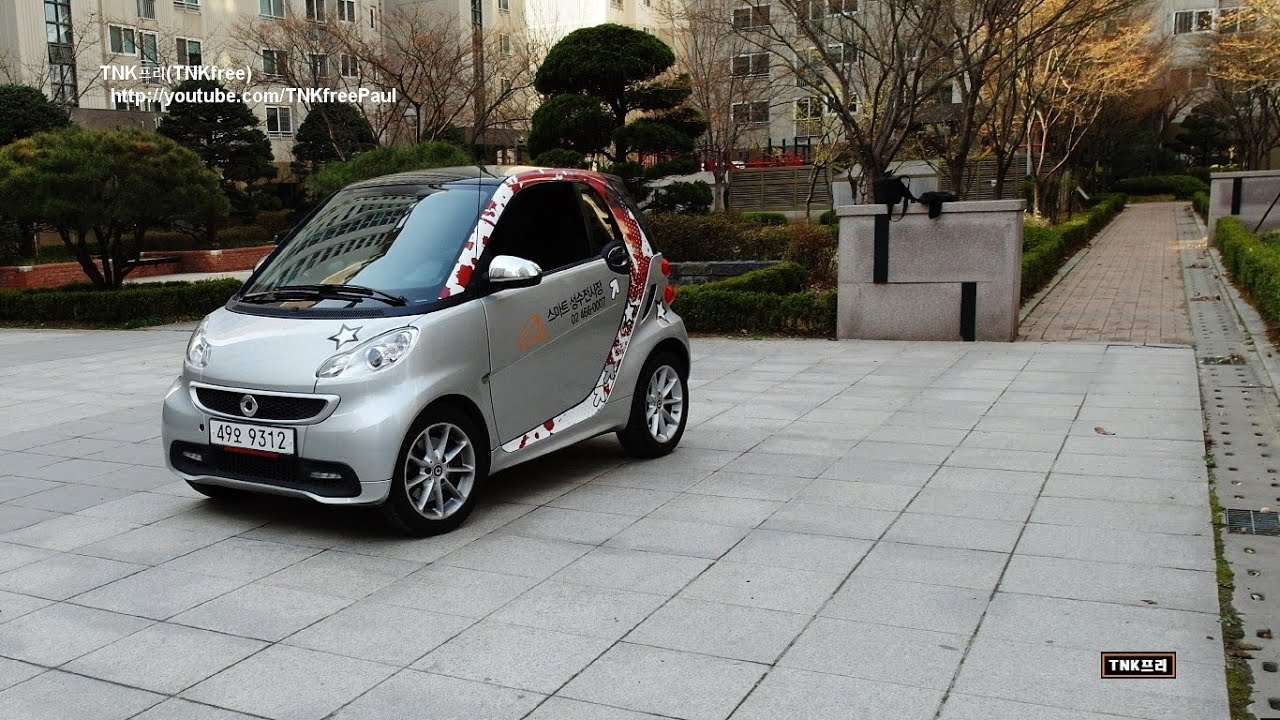 smart fortwo passion coupe 2013 test drive youtube. Black Bedroom Furniture Sets. Home Design Ideas