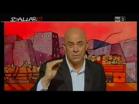 Ballarò – Maurizio Crozza del 25/06/2013 – Silvio, la televisione a colori e la camicia a strisce
