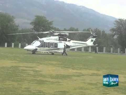 Helicopter ride of PM's son-in-law disrupts Cricket match