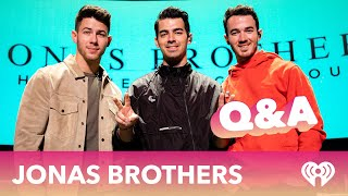 Jonas Brothers Answer Fan Questions at our Exclusive Q&A!
