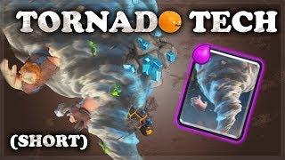 How to Use Tornado Tech | Clash Royale | SHORT VERSION