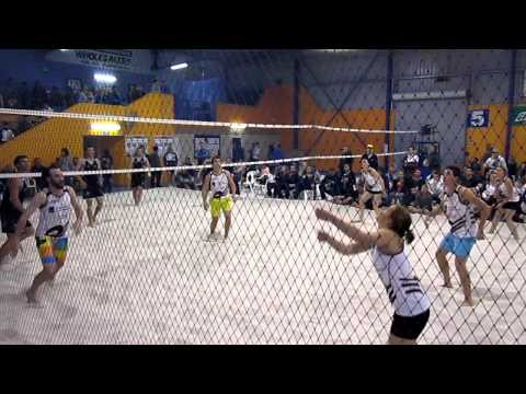 This was the Australian National Indoor Beach Volleyball Championships Mixed ...