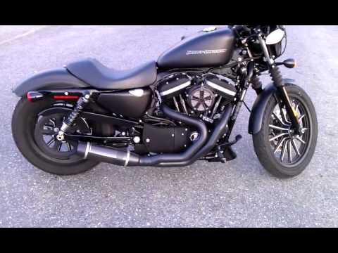 Iron 883 Stage II Conversion & D&D Bobcat Exhaust