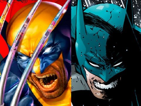 Batman vs. Wolverine!