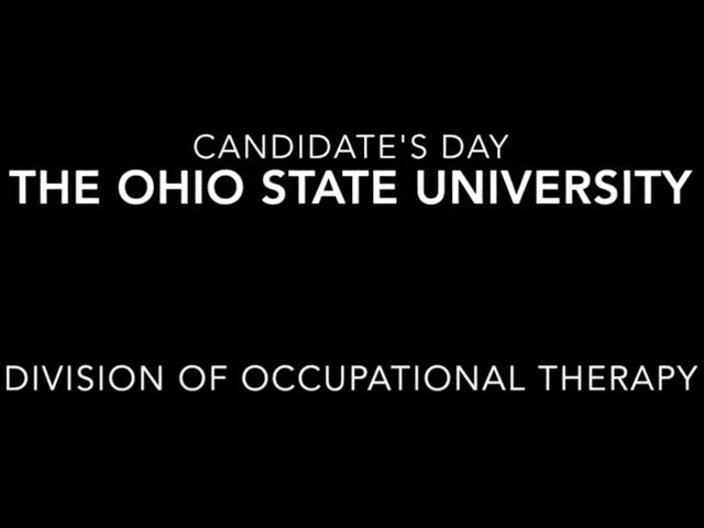 clinical doctorate in occupational therapy admission requirements  admissions vision the ohio state