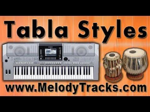 Tabla Styles Yamaha - Sau Saal Pehle - Indian Kit - S550 S650...