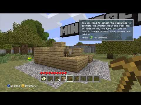 MineCraft: Xbox 360 Edition - Tutorial world