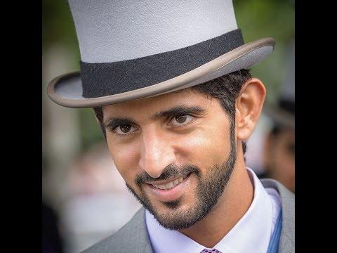 Prince Fazza (Sheikh Hamdan bin Mohammed bin Rashid al Maktoum) Loves British Horse Racing!