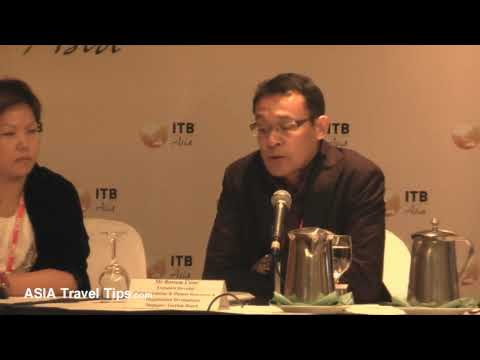 Singapore Tourism Board - Press Conference @ ITB Asia 2009 - Part 3 of 4