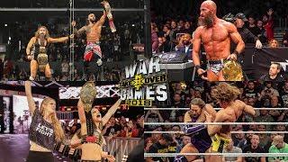NXT TakeOver War Games ll: Reacciones y Resultados | Mr. WWE