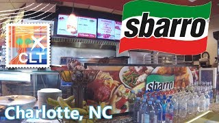 SBARRO Pizza ☆CHARLOTTE AIRPORT☆ Food Review!!!