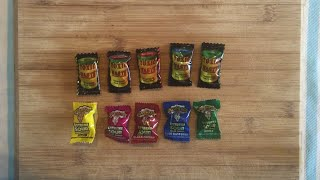 Warheads v Toxic Waste Sour Candy Battle!