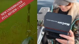 NEW Underwater Camera Review, Unboxing & Test! | Marcum Recon 5+ Edition