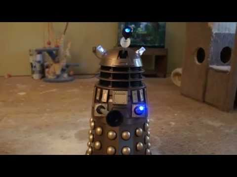 Dalek 18inch voice command.