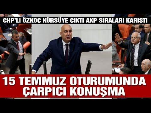 15 Temmuz oturumunda Meclis karıştı! CHP ve AKP birbirine girdi...