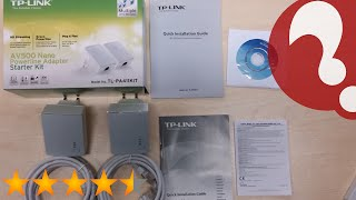 TP-LINK TL-PA411KIT AV500 Nano Powerline Adapter Starter Kit - Setup and firmware upgrade
