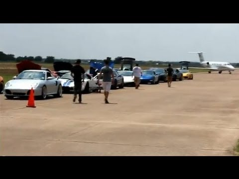 TSS: Side by Side Airfield Racing -- AMS, UGR, DP, Supras, Vettes and