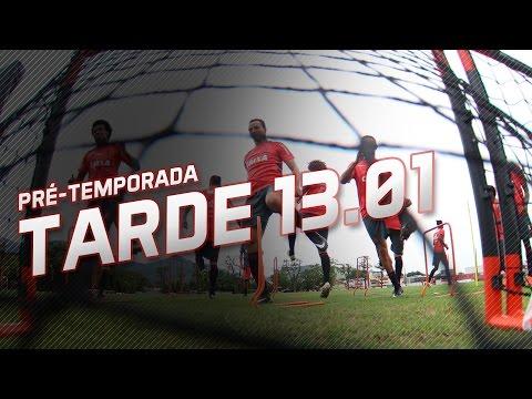 Pré-temporada | Treino da tarde (13/01/2017)