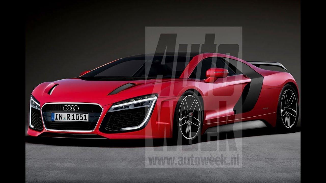 Audi r8 spyder black 2017