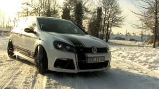 Volkswagen Golf R Sportec SC350 road test (English subtitled)