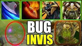 BUG INVIS WITH ALL PASSIVE ! Ability Draft Dota 2