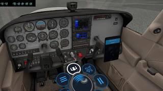 VR Flight in X-Plane 11 at ENOV (ORBX Freeware Scenery)