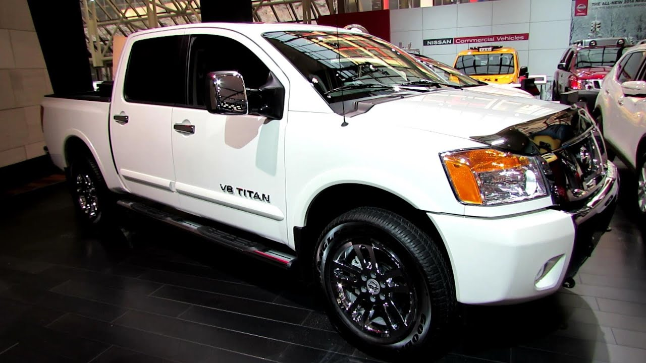2014 Nissan Titan V8 Sl 4x4 Exterior And Interior