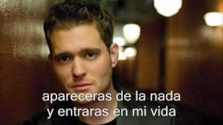 Michael Buble Video - Michael Buble-haven't meet you yet (español)