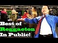 BEST OF REGGAETON - SINGING IN PUBLIC!! (Ozuna, Daddy Yankee, Shakira, Romeo Santos, more)