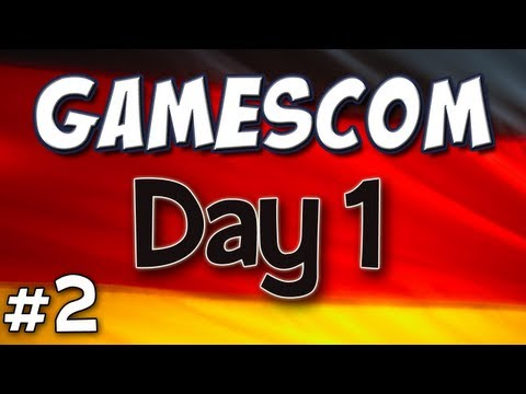 Yogscast - Gamescom Part 2 - Day 1 Diary