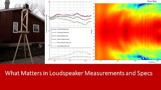 What Matters in Loudspeaker Measurements and Specs?