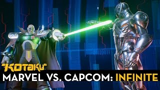 Marvel Vs. Capcom: Infinite Trailer - Ultron And Sigma