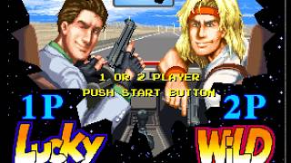 Lucky & Wild arcade 2 player 60fps