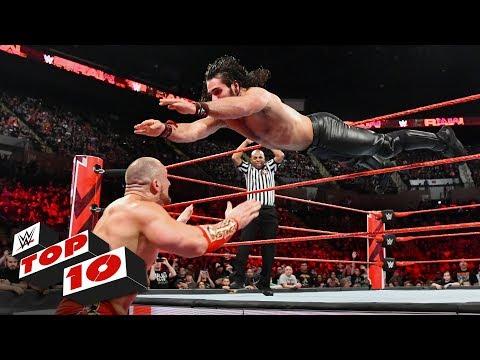 Top 10 Raw moments: WWE Top 10, May 7, 2018 thumbnail