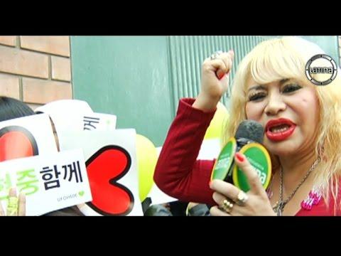 Susy Díaz vibró con adolescentes en concierto K-Pop de Kim Hyun Joong