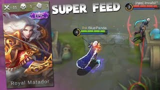 EPIC Gameplay with The NEW EPIC Lancelot Skin Mobile Legends