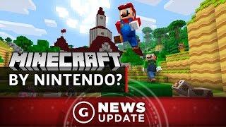 Mario Creator Miyamoto Says Nintendo Almost Made Minecraft - GS News Update