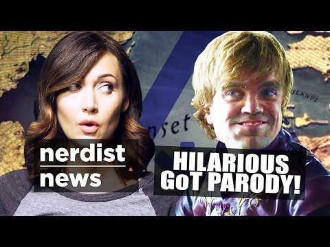 The One GAME OF THRONES Parody You Can't Miss! (Nerdist News WTFridays w/ Jessica Chobot)