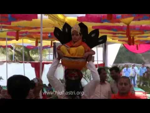 Sughad Swaminarayan Temple Murti Pratishtha Krishna Janm Utsav 1 4 March 2014 video