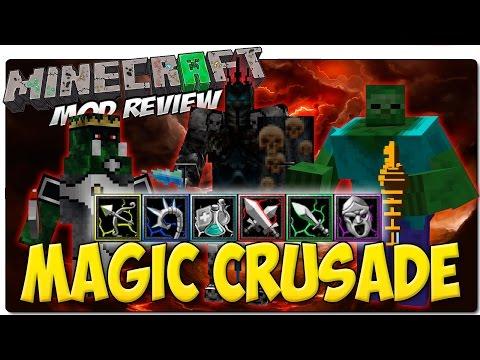 MAGIC CRUSADE MOD PARA MINECRAFT 1.7.10   Mod de facciones y armas de Apocalipsis Minecraft 4